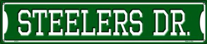 Steelers Dr Wholesale Novelty Metal Street Sign ST-971