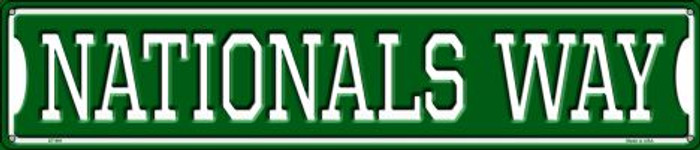 Nationals Way Wholesale Novelty Metal Street Sign ST-991