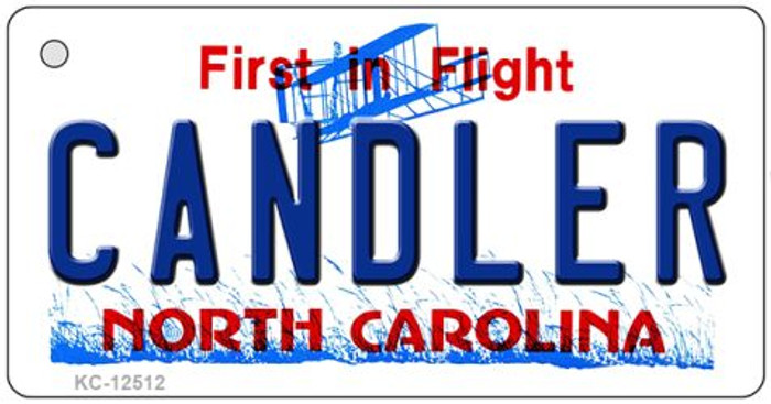Candler North Carolina Wholesale Novelty Metal Key Chain KC-12512
