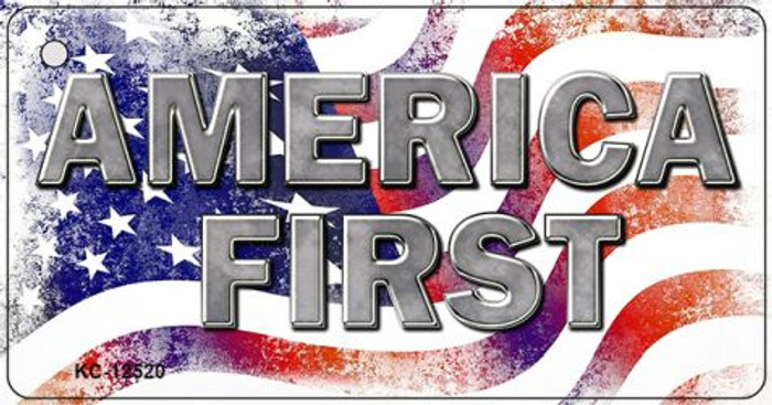 America First Wholesale Novelty Metal Key Chain KC-12520