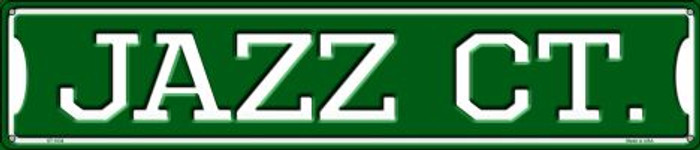 Jazz Ct Wholesale Novelty Metal Street Sign ST-1034