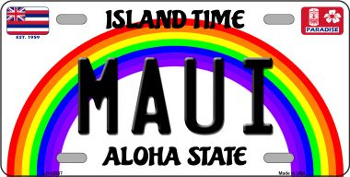Maui Hawaii Wholesale Novelty Metal License Plate LP-12537
