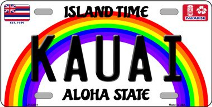 Kauai Hawaii Wholesale Novelty Metal License Plate LP-12541