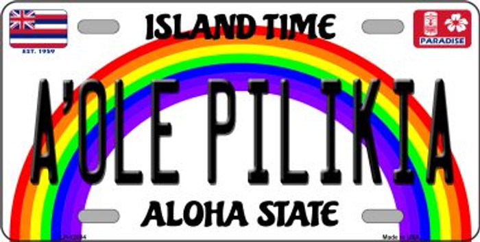 A Ole Pilikia Hawaii Wholesale Novelty Metal License Plate LP-12604