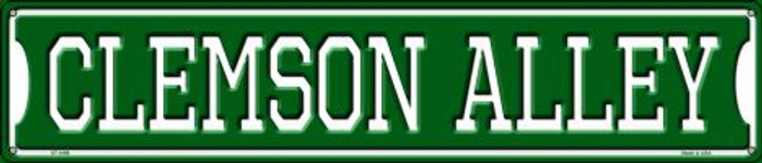 Clemson Alley Wholesale Novelty Metal Street Sign ST-1069