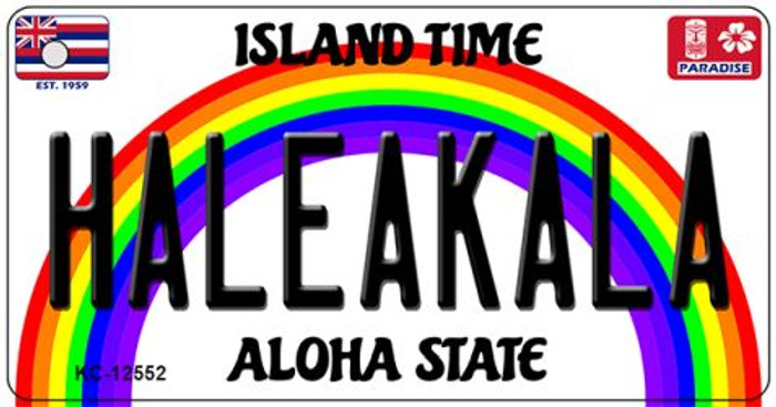 Haleakala Hawaii Wholesale Novelty Metal Key Chain KC-12552