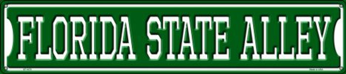Florida State Alley Wholesale Novelty Metal Street Sign ST-1072