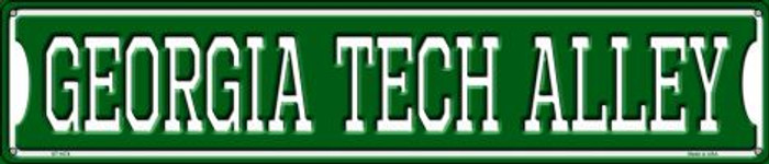 Georgia Tech Alley Wholesale Novelty Metal Street Sign ST-1074