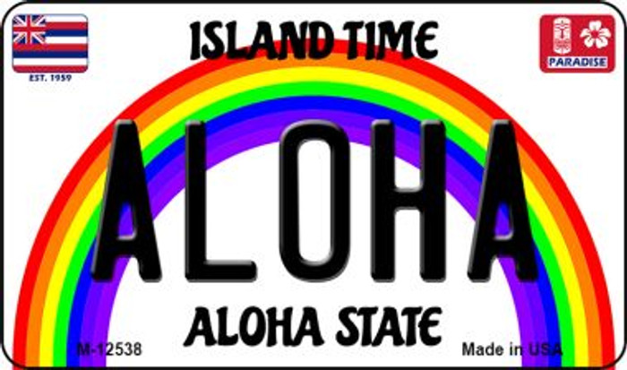 Aloha Hawaii Wholesale Novelty Metal Magnet M-12538