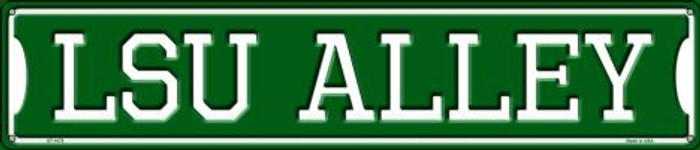 LSU Alley Wholesale Novelty Metal Street Sign ST-1078