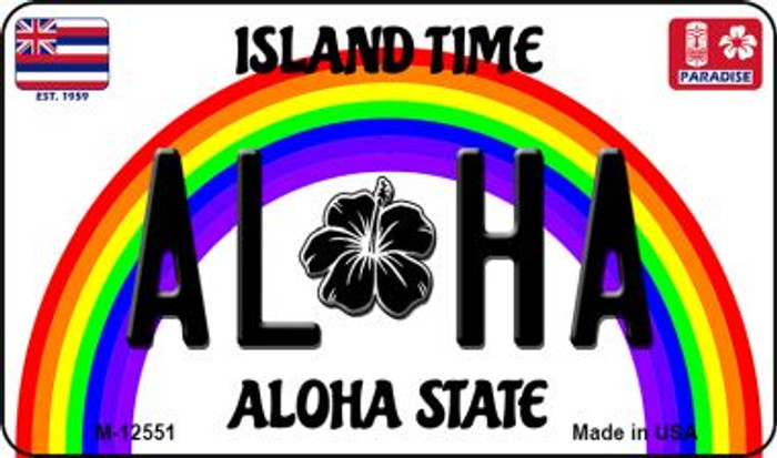 Aloha Hawaii Wholesale Novelty Metal Magnet M-12551