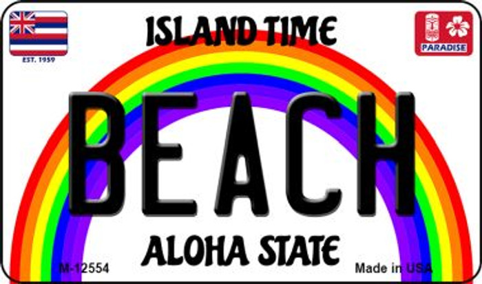 Beach Hawaii Wholesale Novelty Metal Magnet M-12554