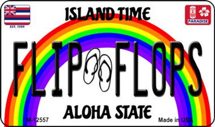 Flip Flops Hawaii Wholesale Novelty Metal Magnet M-12557