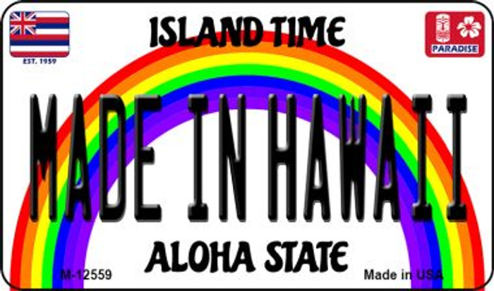 Made In Hawaii Wholesale Novelty Metal Magnet M-12559