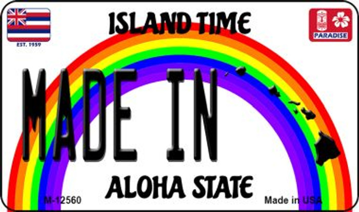 Made In Hawaii Wholesale Novelty Metal Magnet M-12560