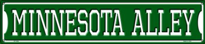 Minnesota Alley Wholesale Novelty Metal Street Sign ST-1084