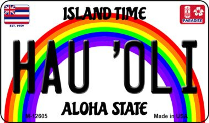 Hau Oli Hawaii Wholesale Novelty Metal Magnet M-12605