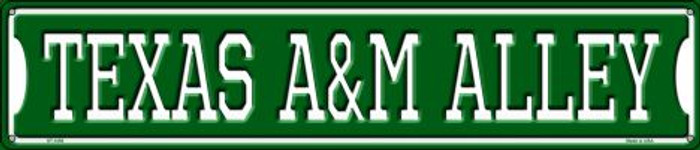 Texas A&M Alley Wholesale Novelty Metal Street Sign ST-1093