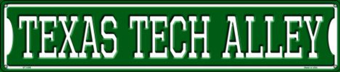 Texas Tech Alley Wholesale Novelty Metal Street Sign ST-1095