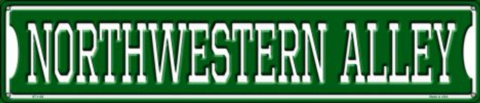 Northwestern Alley Wholesale Novelty Metal Street Sign ST-1102