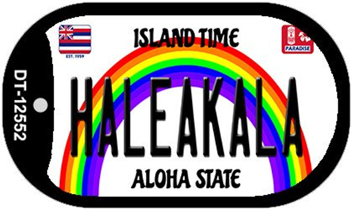 Haleakala Hawaii Wholesale Novelty Metal Dog Tag Necklace DT-12552