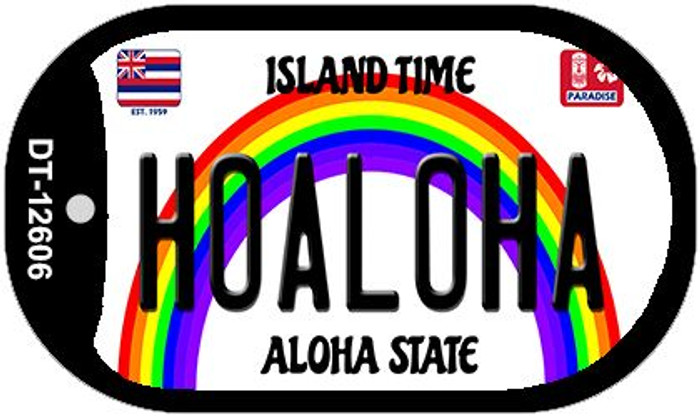 Hoaloha Hawaii Wholesale Novelty Metal Dog Tag Necklace DT-12606