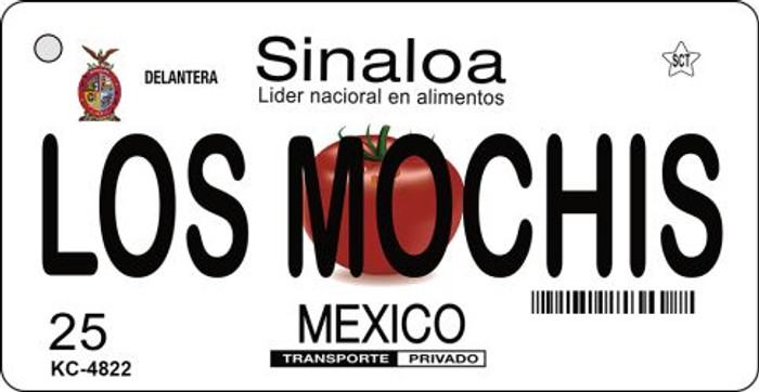 Los Mochis Mexico Wholesale Novelty Metal Key Chain KC-4822
