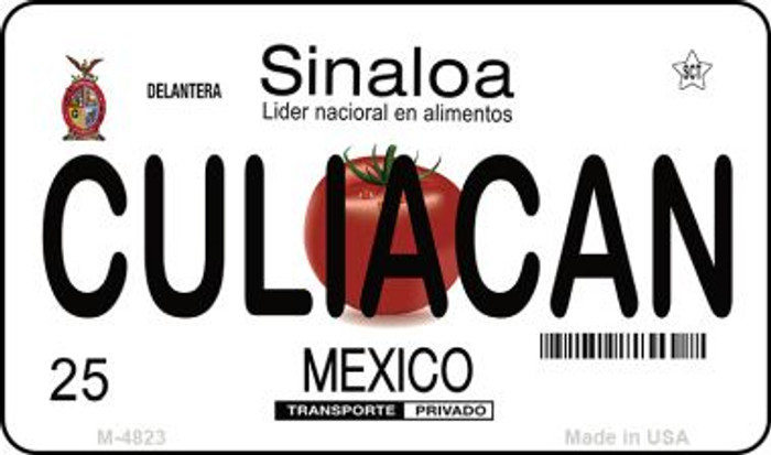Culiacan Mexico Wholesale Novelty Metal Magnet M-4823