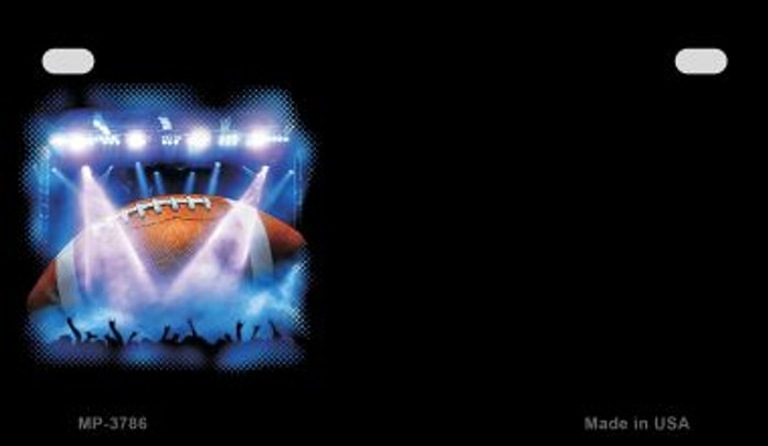 Football Offset Wholesale Novelty Metal Motorcycle Plate MP-3786