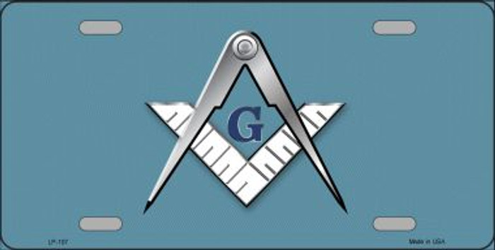 Masons Logo Novelty Wholesale Metal License Plate