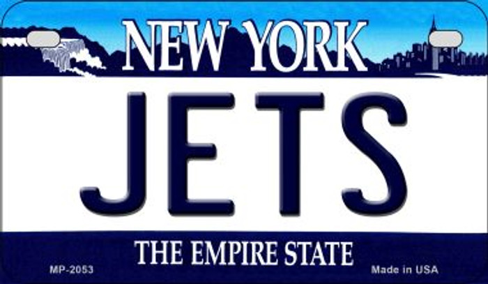 Jets New York Wholesale Novelty Metal Motorcycle Plate MP-2053