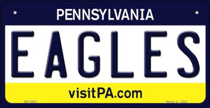 Eagles Pennsylvania Wholesale Novelty Metal Bicycle Plate BP-2057