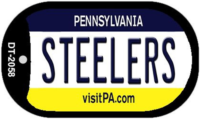 Steelers Pennsylvania Wholesale Novelty Metal Dog Tag Necklace DT-2058