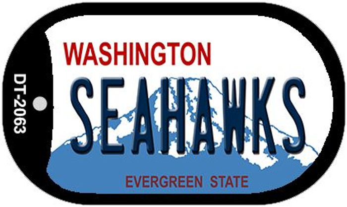 Seahawks Washington Wholesale Novelty Metal Dog Tag Necklace DT-2063