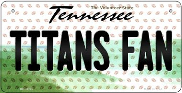 Titans Fan Tennessee Wholesale Novelty Metal Bicycle Plate BP-10779
