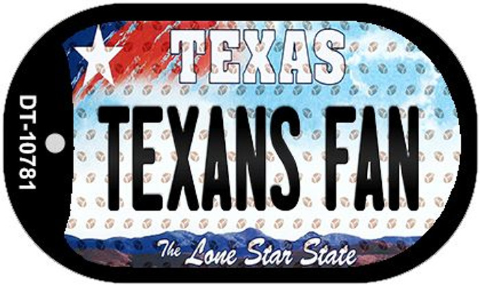 Texans Fan Texas Wholesale Novelty Metal Dog Tag Necklace DT-10781