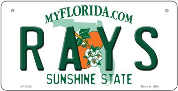 Rays Florida Wholesale Novelty Metal Bicycle Plate BP-2084