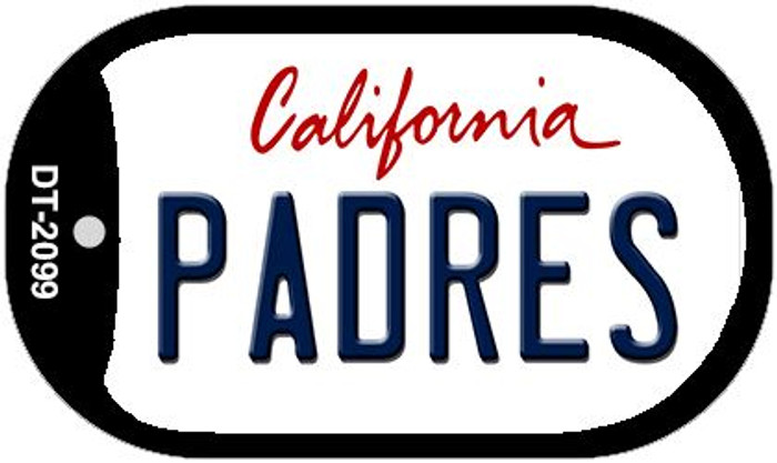 Padres California Wholesale Novelty Metal Dog Tag Necklace DT-2099