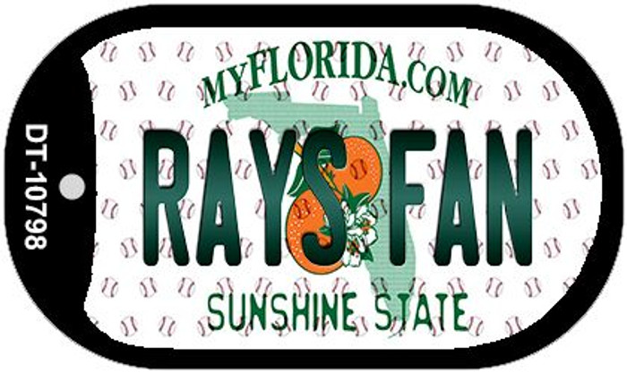 Rays Fan Florida Wholesale Novelty Metal Dog Tag Necklace DT-10798