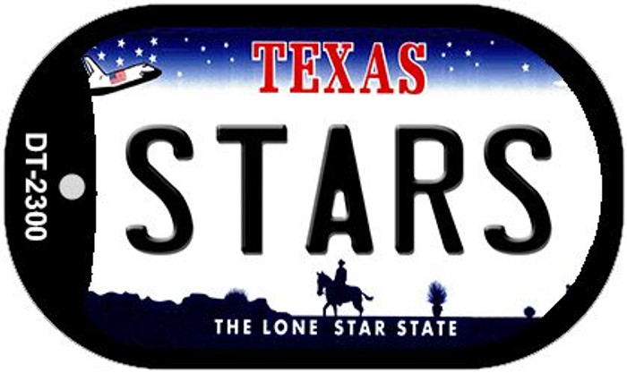 Stars Texas Wholesale Novelty Metal Dog Tag Necklace DT-2300