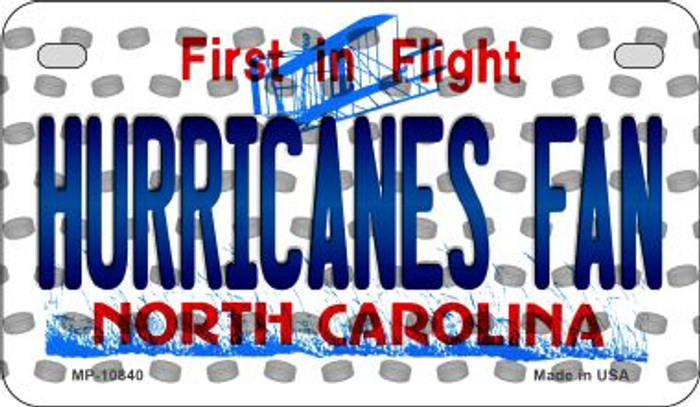 Hurricanes Fan North Carolina Wholesale Novelty Metal Motorcycle Plate MP-10840
