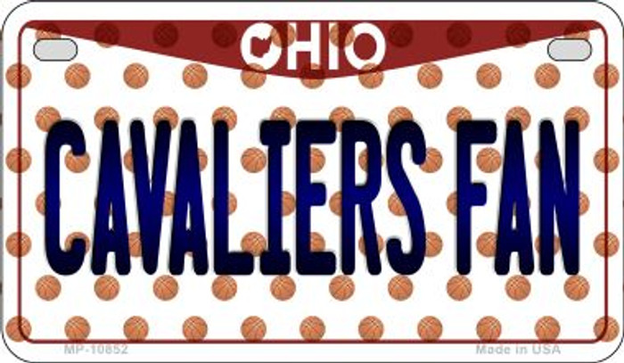 Cavaliers Fan Ohio Wholesale Novelty Metal Motorcycle Plate MP-10852