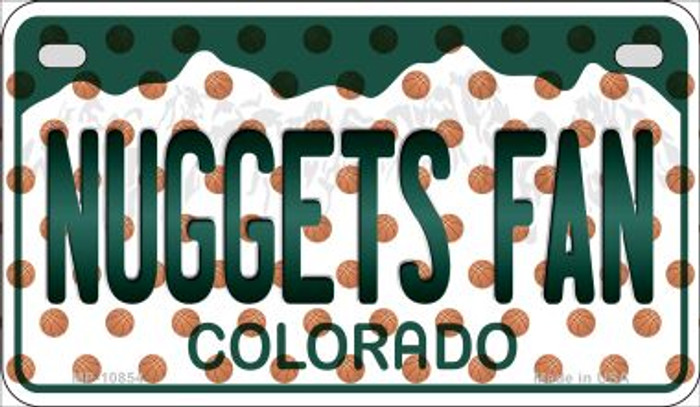 Nuggets Fan Colorado Wholesale Novelty Metal Motorcycle Plate MP-10854