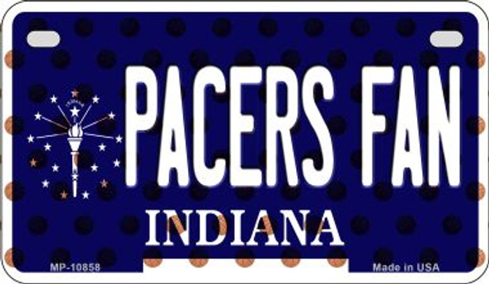 Pacers Fan Indiana Wholesale Novelty Metal Motorcycle Plate MP-10858