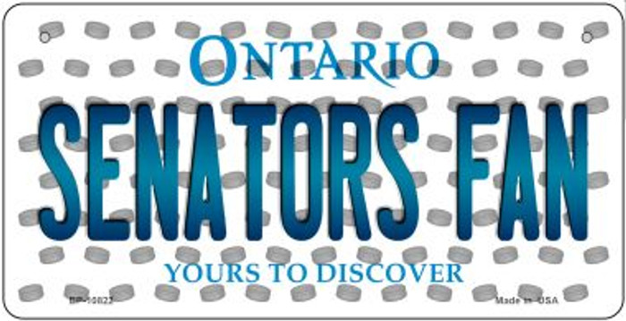 Senators Fan Ontario Wholesale Novelty Metal Bicycle Plate BP-10822