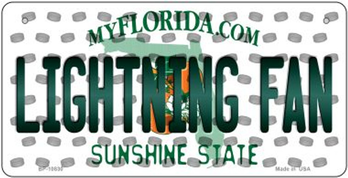 Lightning Fan Florida Wholesale Novelty Metal Bicycle Plate BP-10830