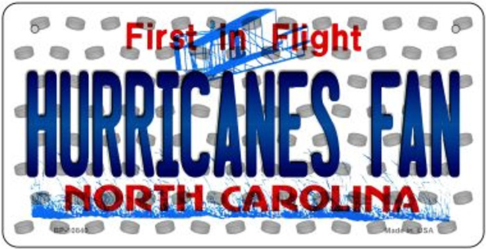 Hurricanes Fan North Carolina Wholesale Novelty Metal Bicycle Plate BP-10840