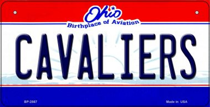 Cavaliers Ohio Wholesale Novelty Metal Bicycle Plate BP-2567
