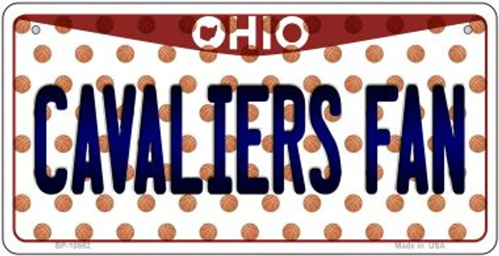 Cavaliers Fan Ohio Wholesale Novelty Metal Bicycle Plate BP-10852