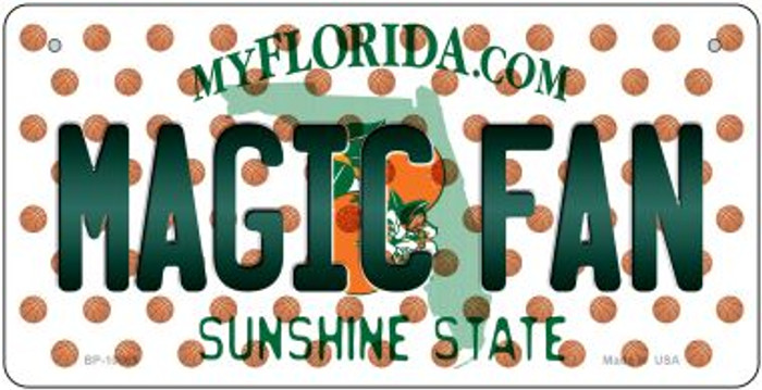 Magic Fan Florida Wholesale Novelty Metal Bicycle Plate BP-10869